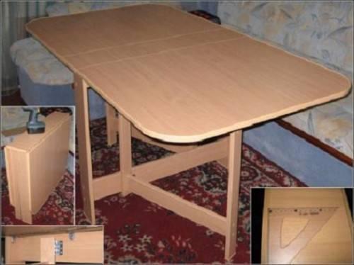 Как сделать стол книжку своими руками