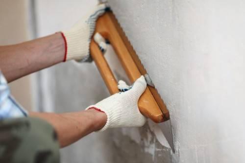 Как самому выровнять стены