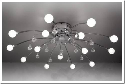 Монтаж припотолочной люстры: способы и рекомендации