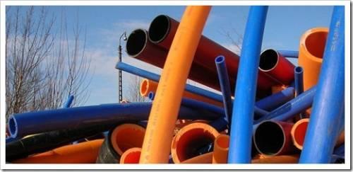 Наиболее распространённые виды пластиковых труб