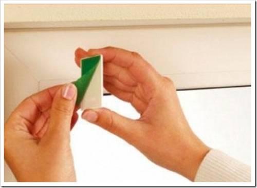 Монтаж рулонной шторы на глухое окно