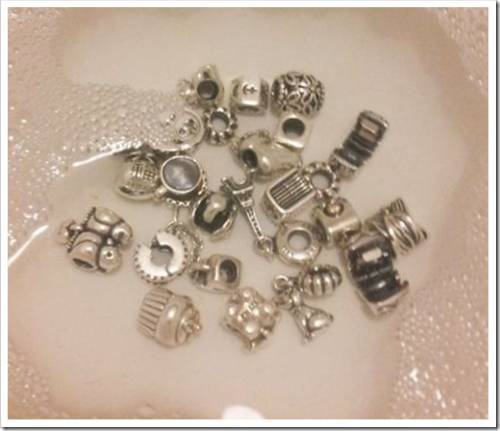 Самая эффективная и безопасная чистка браслетов Pandora