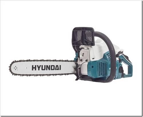 Бензиновые пилы Hyundai