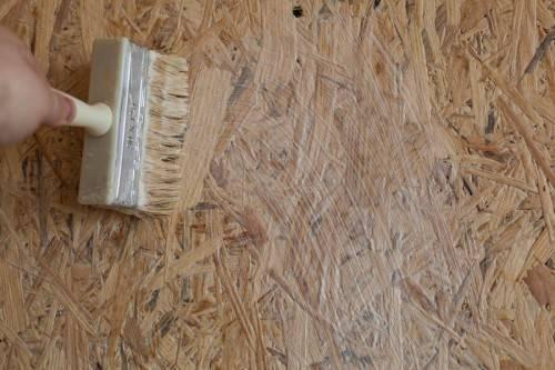 Osb плита - что это и чем ее покрасить