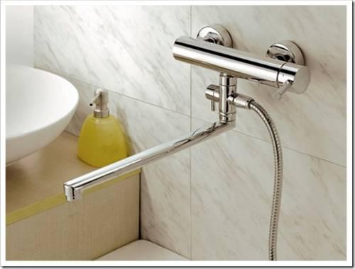 Смесители для ванны и раковины