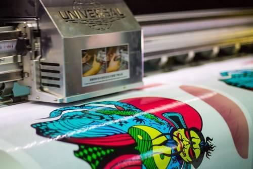Виды печати на пленках