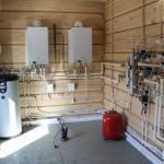 Монтаж системы отопления в частном доме