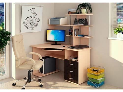 Как собрать угловой компьютерный стол