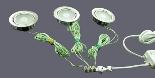 Как подключить светодиодный светильник к 220 В