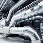 Монтаж систем отопления и вентиляции