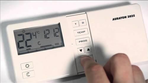 Как настроить регулятор температуры на котле
