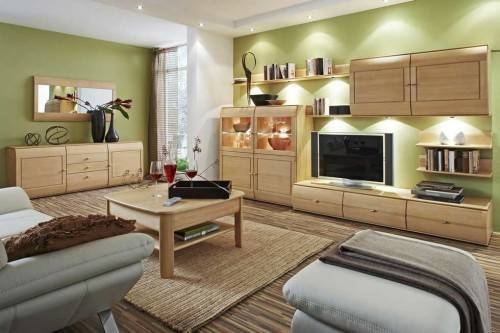 Как подобрать цвет мебели в гостиной