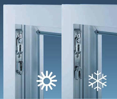 Как перевести металлопластиковые окна в зимний режим