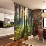Виды стеклянных перегородок в дизайне квартиры