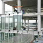 Монтаж витражных конструкций из алюминиевых профилей
