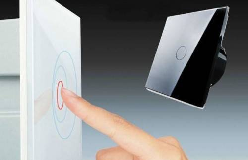 Как работает сенсорный выключатель