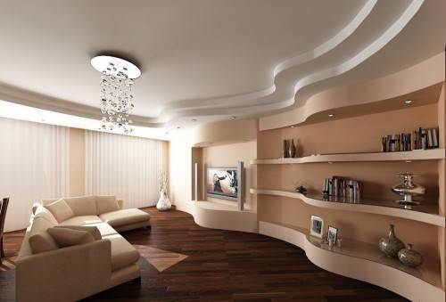 Натяжной или гипсокартонный потолок: что лучше