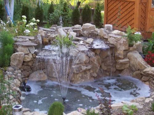 Как сделать декоративный фонтан дома своими руками