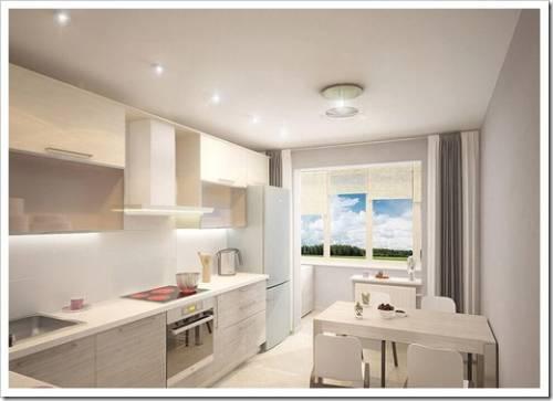 Преимущества натяжных потолков на кухне
