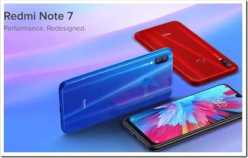 Технические аспекты RedMi Note 7