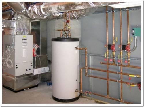 Как работает водонагреватель косвенного нагрева?