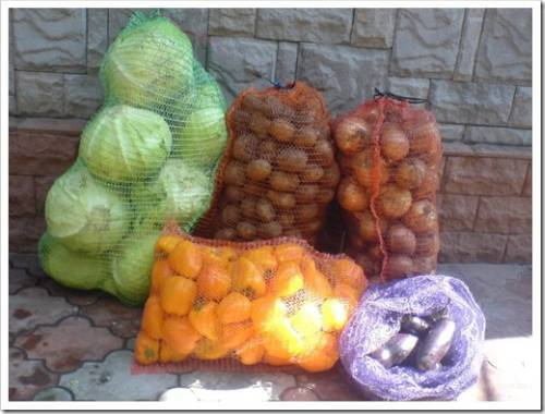 Почему для овощей уместно использовать именно сетку?