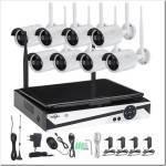 Что включено в комплект оборудования для видеонаблюдения?