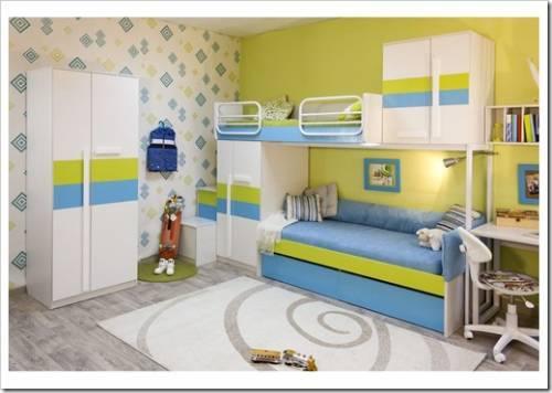Какие разновидности детской мебели популярны сегодня?