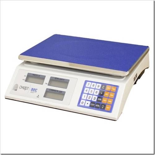 Принципы использования электронных весов