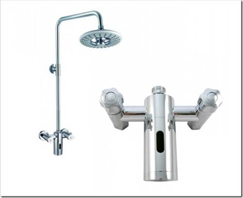 сенсорный душ