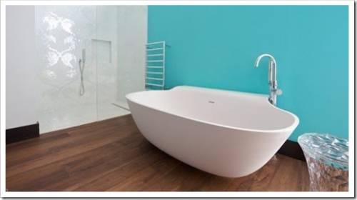 Различные формы акриловых ванн